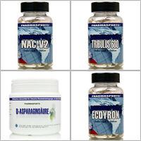 Natural Testosteron Set ( Tribulus, Nacv2, Ecdysterone, D-asparaginsäure )