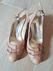 best service 62d30 77149 Dettagli su scarpe donna usate fetish decolte donna beige molto usate