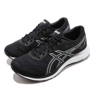 7ed033e47d2d8 Asics Gel- Excite 6 Black White Grey Men Running Shoes Sneakers ...