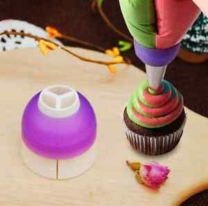 Sugar Cake Decorating Icing Piping Bag Nozzle Converter ...