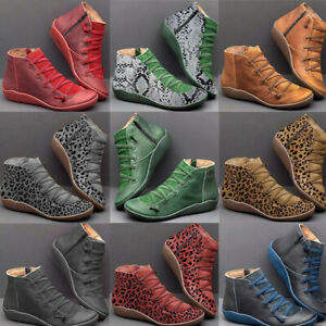 women arch support ankle boots multi styles colors hot