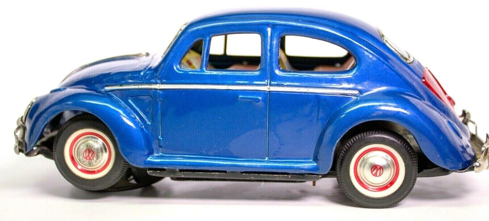 Vintage Selten Japanisch Batteriebetrieben Litho 597ms Volkswagen Käfer