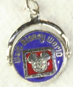 Vintage Sterling Silver Walt Disney World Spinner Charm