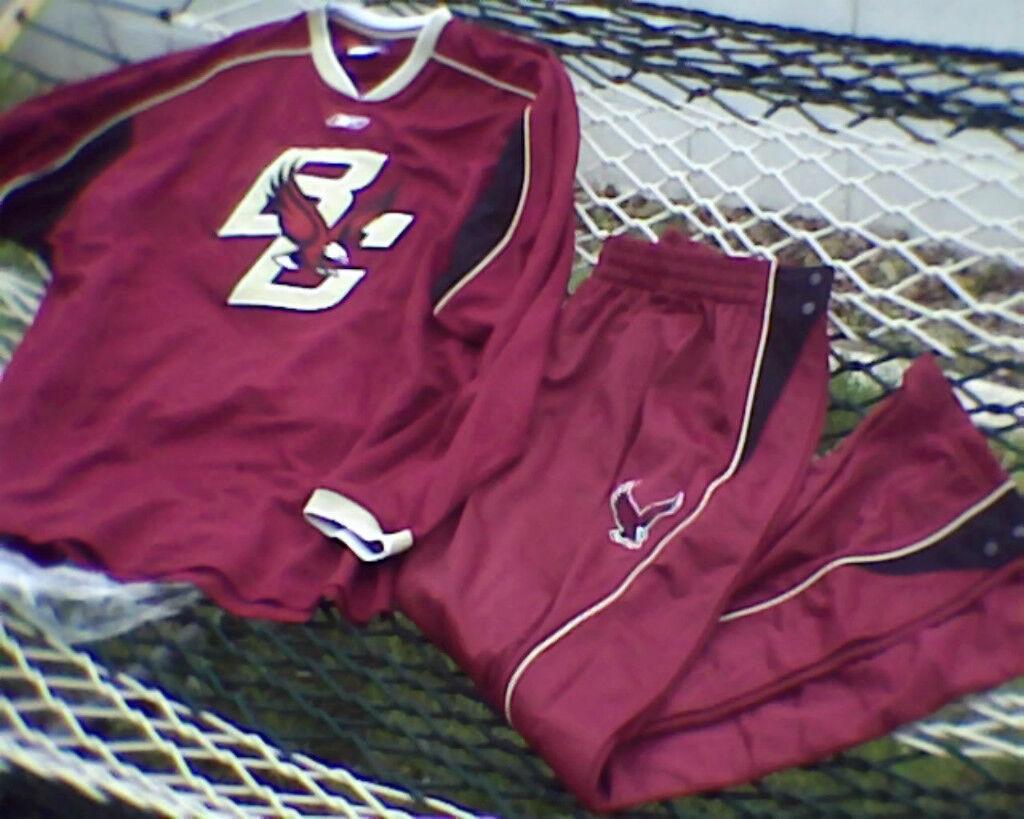 Boston College Eagles Basketball Pants Shirt M L XL 2XL Sweat Warm-up Suit 129