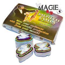 Ruban à la bouche MULTICOLORE - Mouth Coils - Tour de Magie