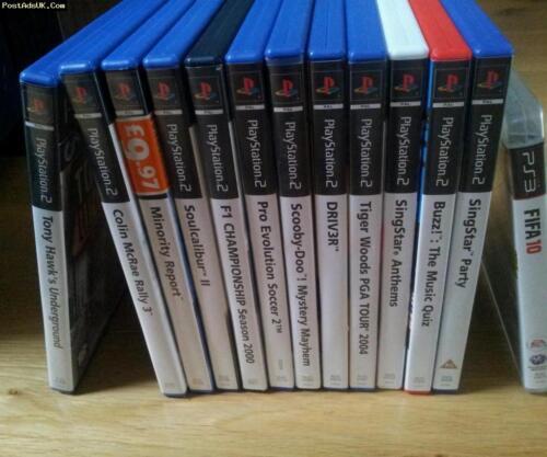 Ps2 Playstation 2 Juego Lote Mario Sonic Gta Lego Star Wars Disney Fantasy Cod