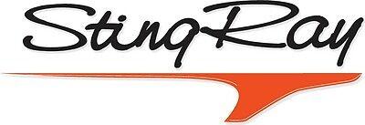 New Classic Series Hydrofoil sting Ray Jr-1 Junior Fits 1-1//2-40hp Black