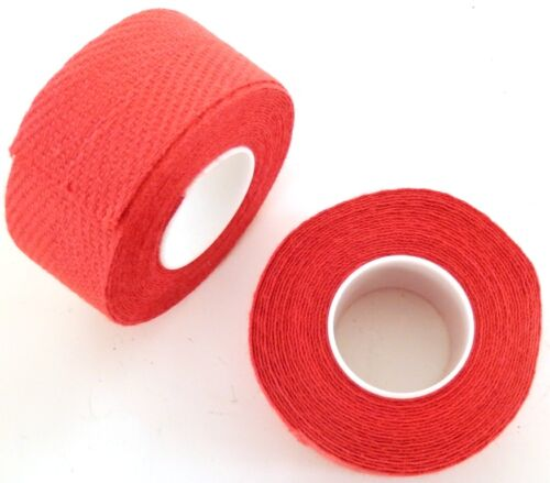 """NEW"" VINTAGE ADHESIVE COTTON TAPE FOR HANDLBARS GUIDOPLAST TRESSOREX RED."