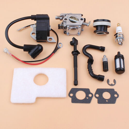 Carburetor Carb Intake Ignition Coil For STIHL 018 MS180 Chainsaw NEW