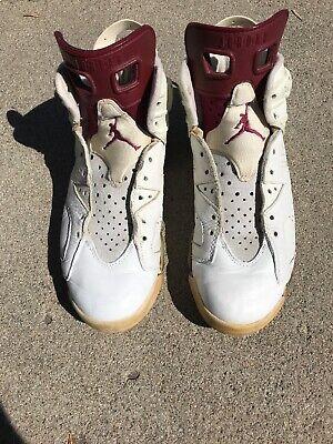 Nike Air Jordan 1991 Maroon VI Size 10.5 OG NIKE AIR JORDAN MAROON VI 1991 OG | eBay