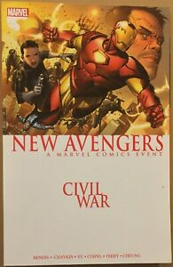 Civil-War-New-Avengers-NM-tpb-Bendis-Chaykin-Yu-Marvel