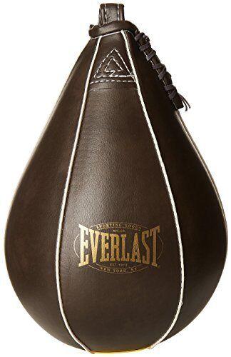 Everlast Leather Speed Ball PU Punching Bag Vintage