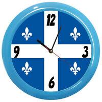 Pendule Ronde Quebec Cbkreation