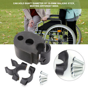 Gehstock-Gehhilfe-Krueckenhalter-for-Rollstuhl-Electric-Scooter