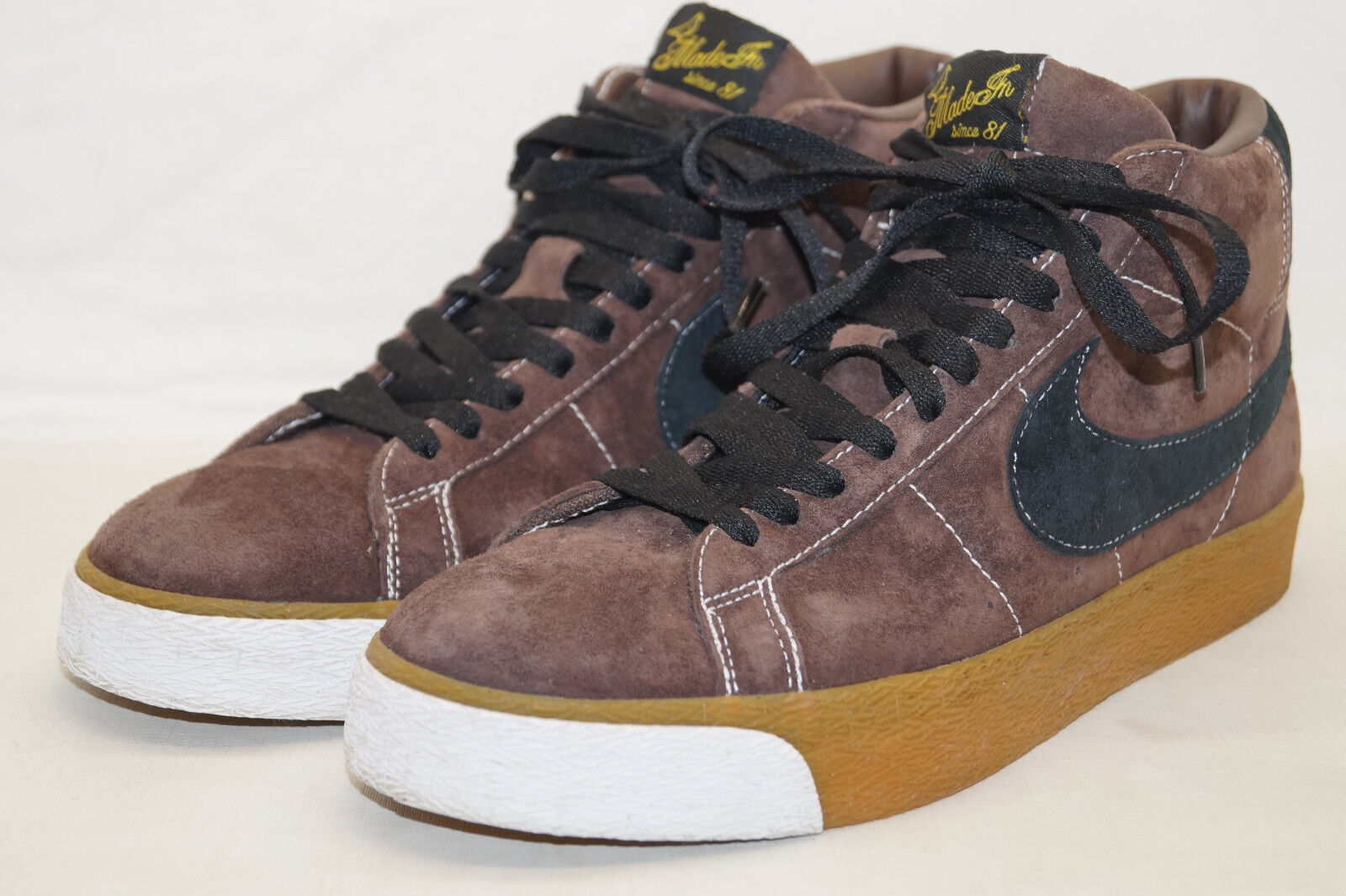 NIKE Blazer suede  Made ni  COLOGNE COLONIA 2005 tg. 42,5 uk.8 sample 310801-201