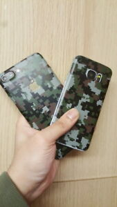 Digital-Camuflaje-Camo-caso-Pegatina-Calcomania-Envoltura-de-piel-caso-de-vinilo-Samsung-Galaxy