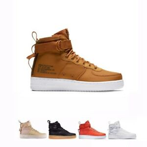 wholesale dealer e1a64 8af1b Details about Men's Nike SF 1 Special Field Air Force One Mid Shoes  917753-003 200 800