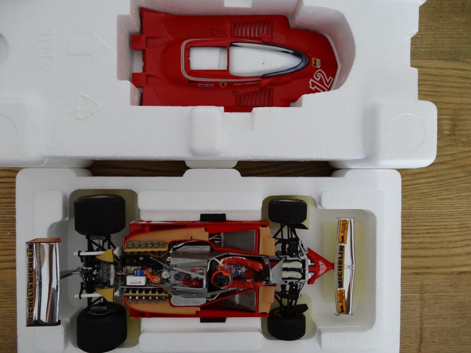 F1 Ferrari 312 T4 GP USA 1979, Gilles VILLENEUVE Victoire , EXOTO 1 18