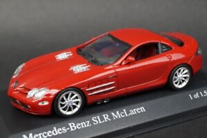1:43 MINICHAMPS 400033024 Mercedes-Benz SLR McLaren 2003 Red