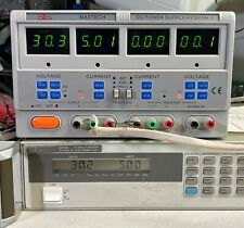 Mastech Hy3005m 3 Triple Output 30v 5a Variable Dc Power Supply With Tracking
