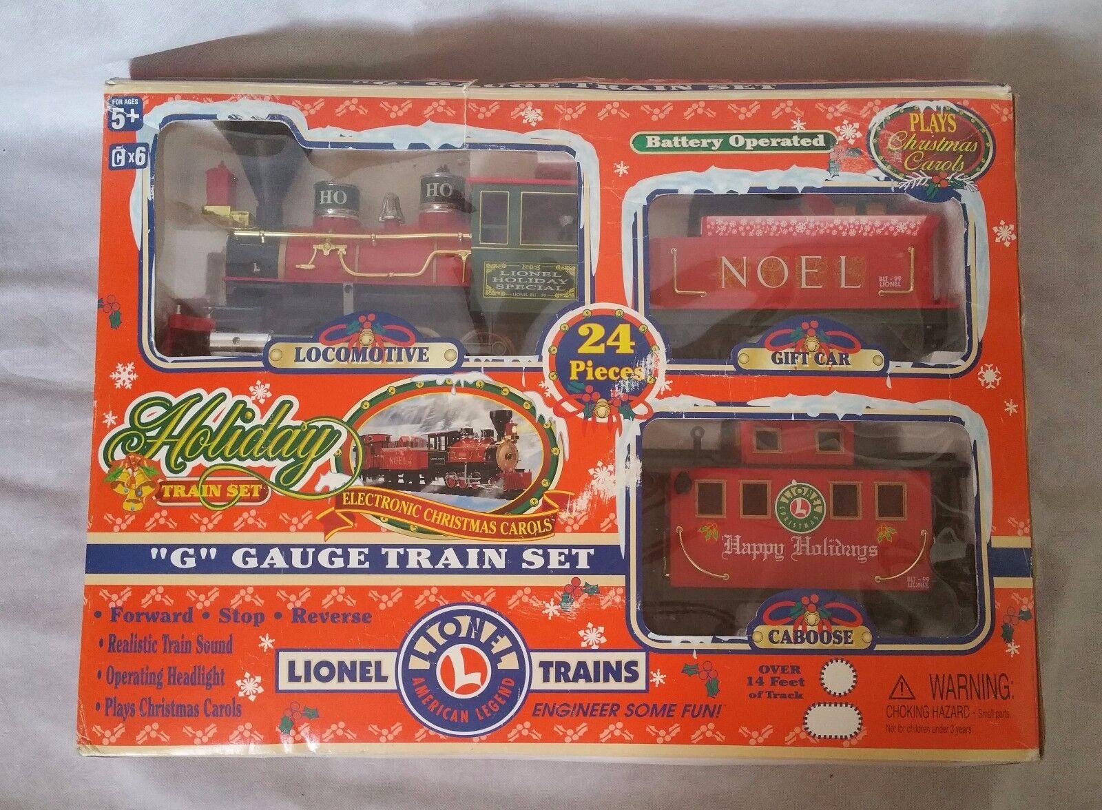 Lionel G Gauge HOLIDAY TRAIN SET 62134