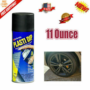 Details About Plasti Dip Rubber Coating Spray Paint Matt Black Color Diy Car Wheels Rims Cans