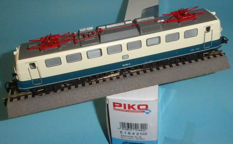 Piko 51642 Elektrolok E-Lok BR 150 062-8 der DB Epoche 4 mit DSS Plux,neuwertig