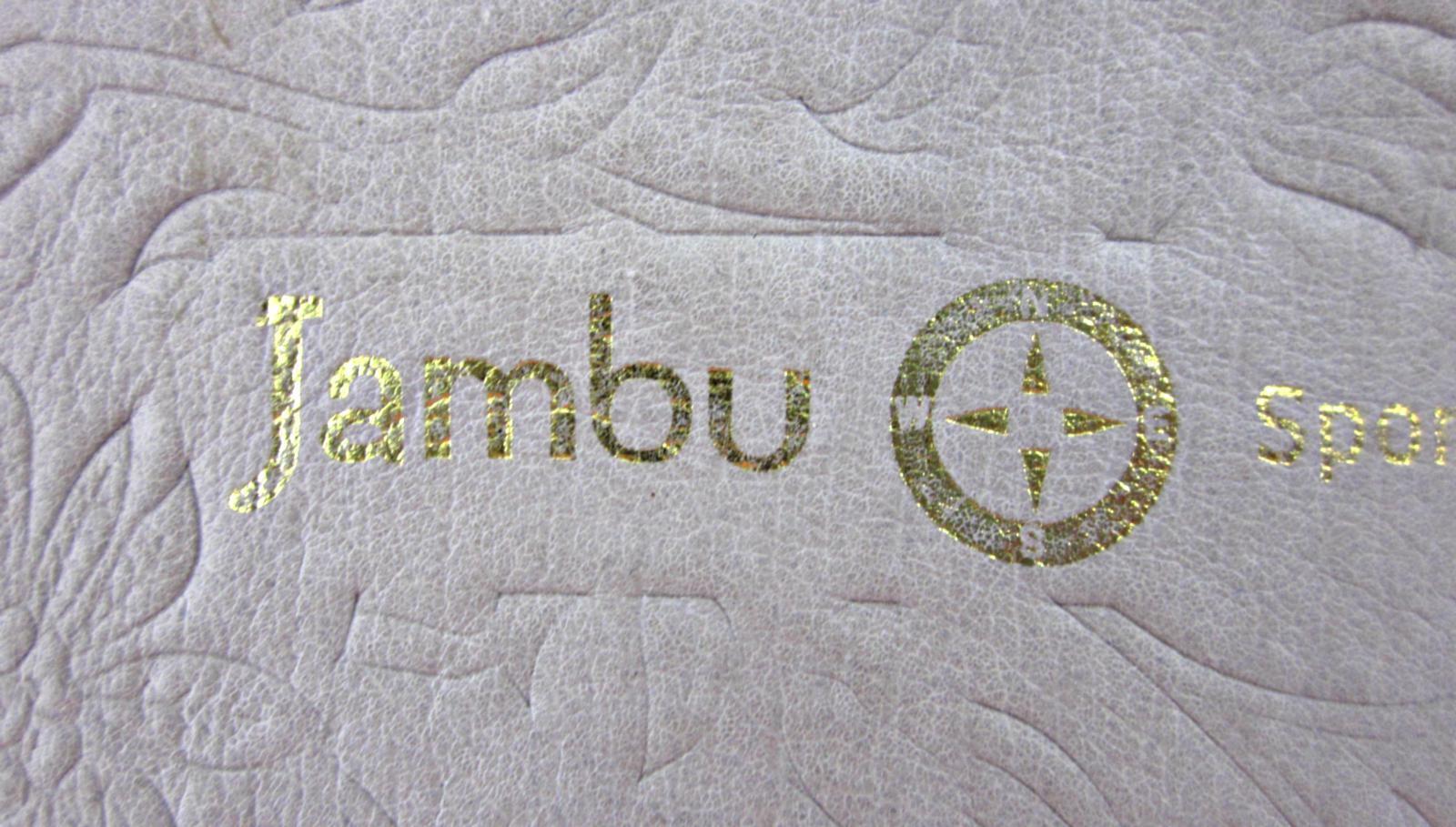 Jambu Leder 'Acapulco' T-Strap Woven Leder Jambu Sandales Platinum Nude 9M Worn Once 0178e4