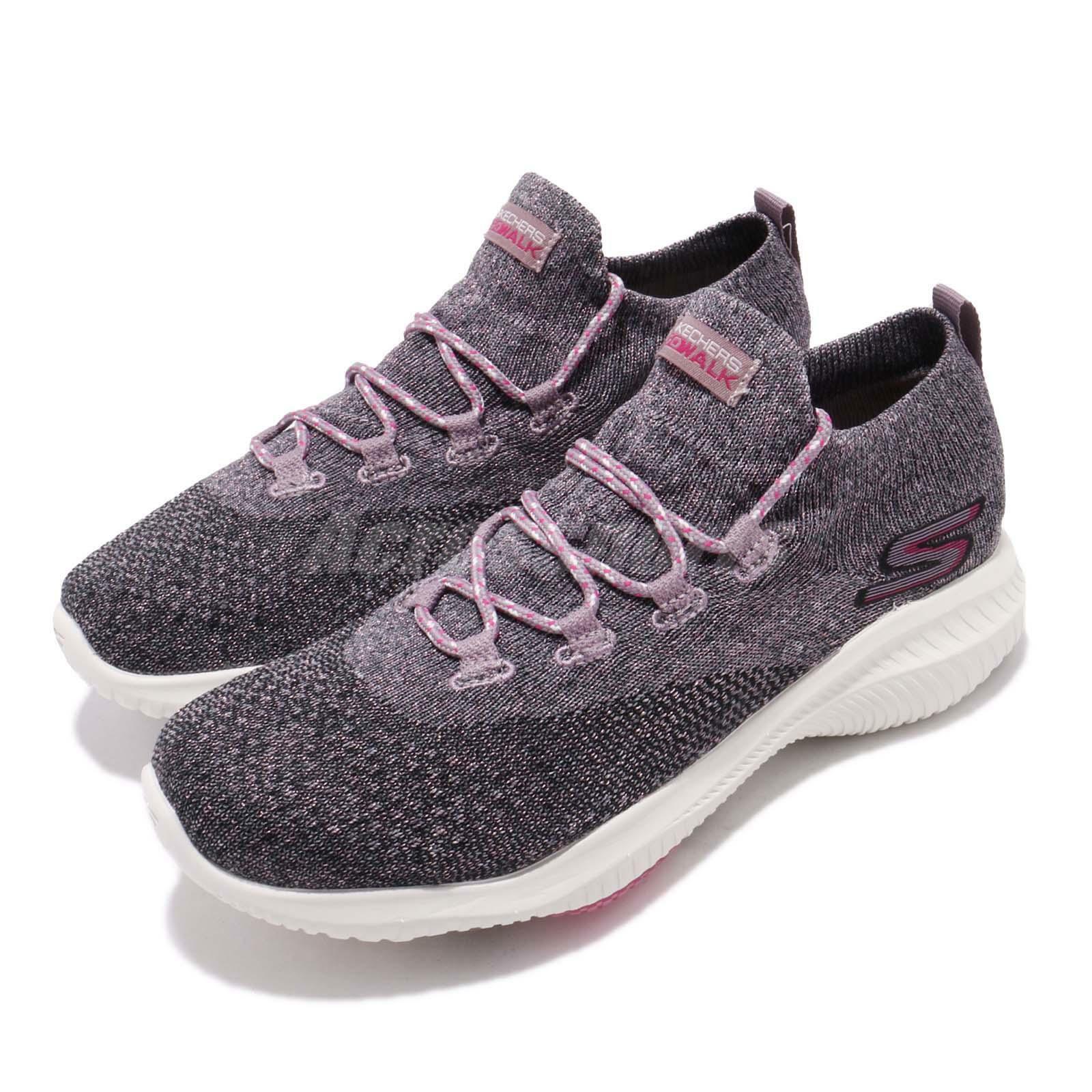 Skechers Go Walk Revolution Ultra-Ventured Black Pink Women shoes 15670-BKPK