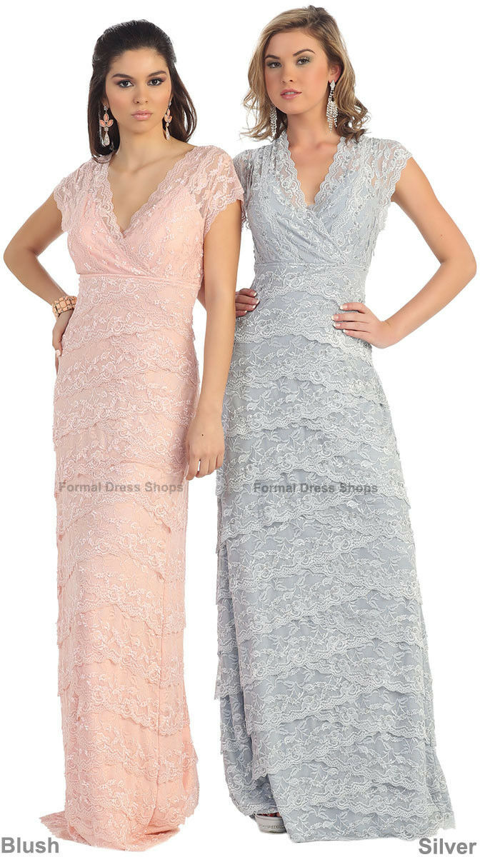 SALE! FORMAL EVENING SPECIAL OCCASION GOWN CAP SLEEVE PLUS SIZE ...