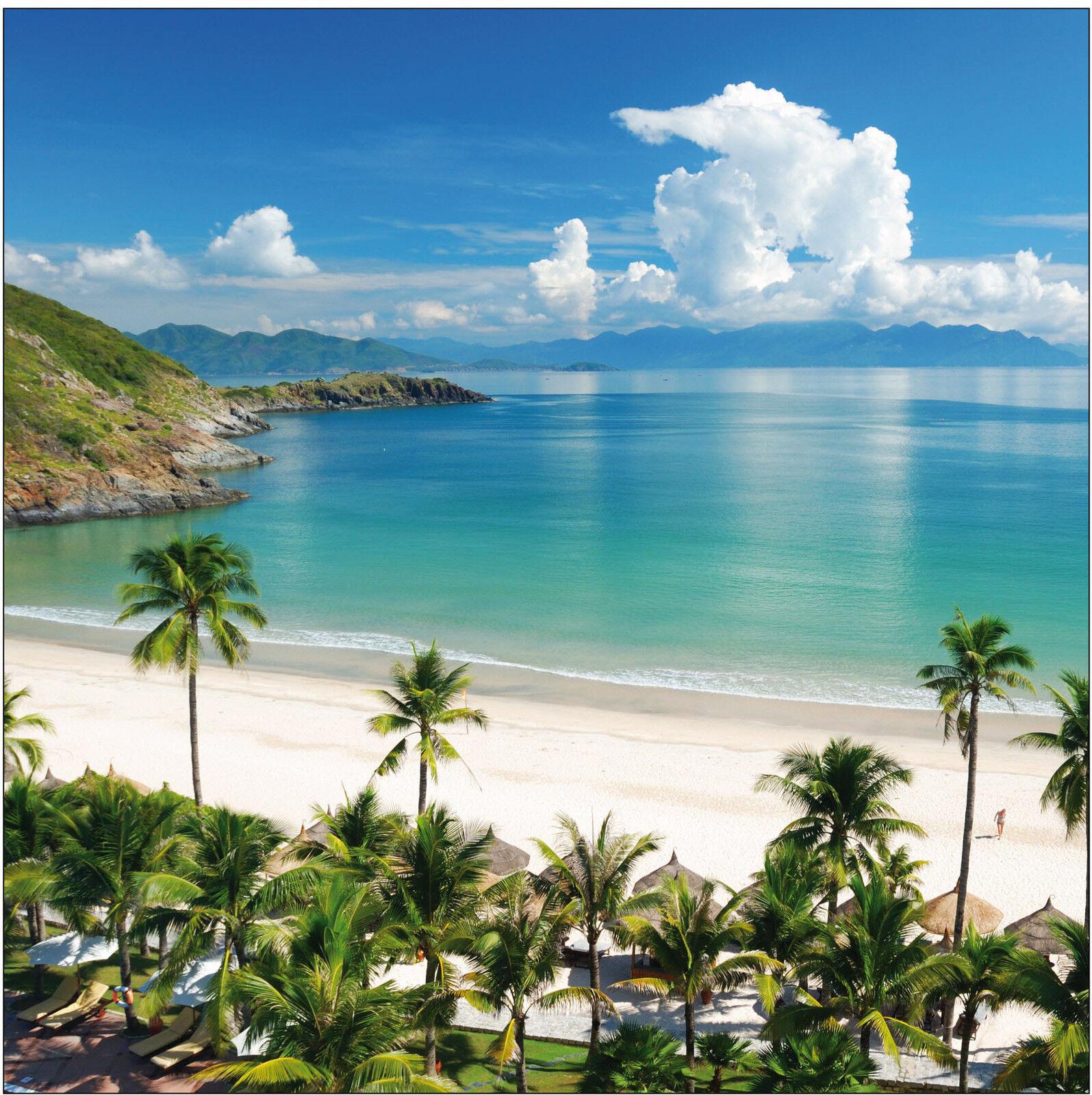 Adesivo decocrazione Bello vista spiaggia dimensioni Ref 483 - 16 dimensioni spiaggia - parete b0a95d