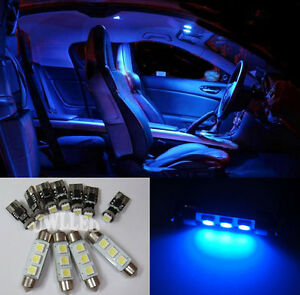 Details About 11 Pcs Smd Blue Led Interior Light Kit For Bmw E46 318 320 328 330 M3 Canbus