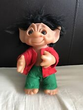 "Original 1977 Vintage Thomas Dam Troll 10"" Tall 164"