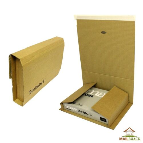 200 LARGE C4 Book Wraps Lightweight Post Mailer Boxes305x240x115mm - SIZE A4