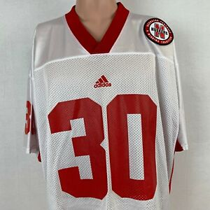 new product 22a70 de4ad Adidas Nebraska Cornhuskers Replica Football Jersey Vintage ...