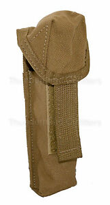 US-Military-MOLLE-Flashlight-Pouch-Coyote-or-Knife-Holder-Utility-LBT-9037A-NEW
