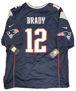 Details about New Tom Brady Mens 2X New England Patriot Super Bowl 53 Nike Screen Game Jersey