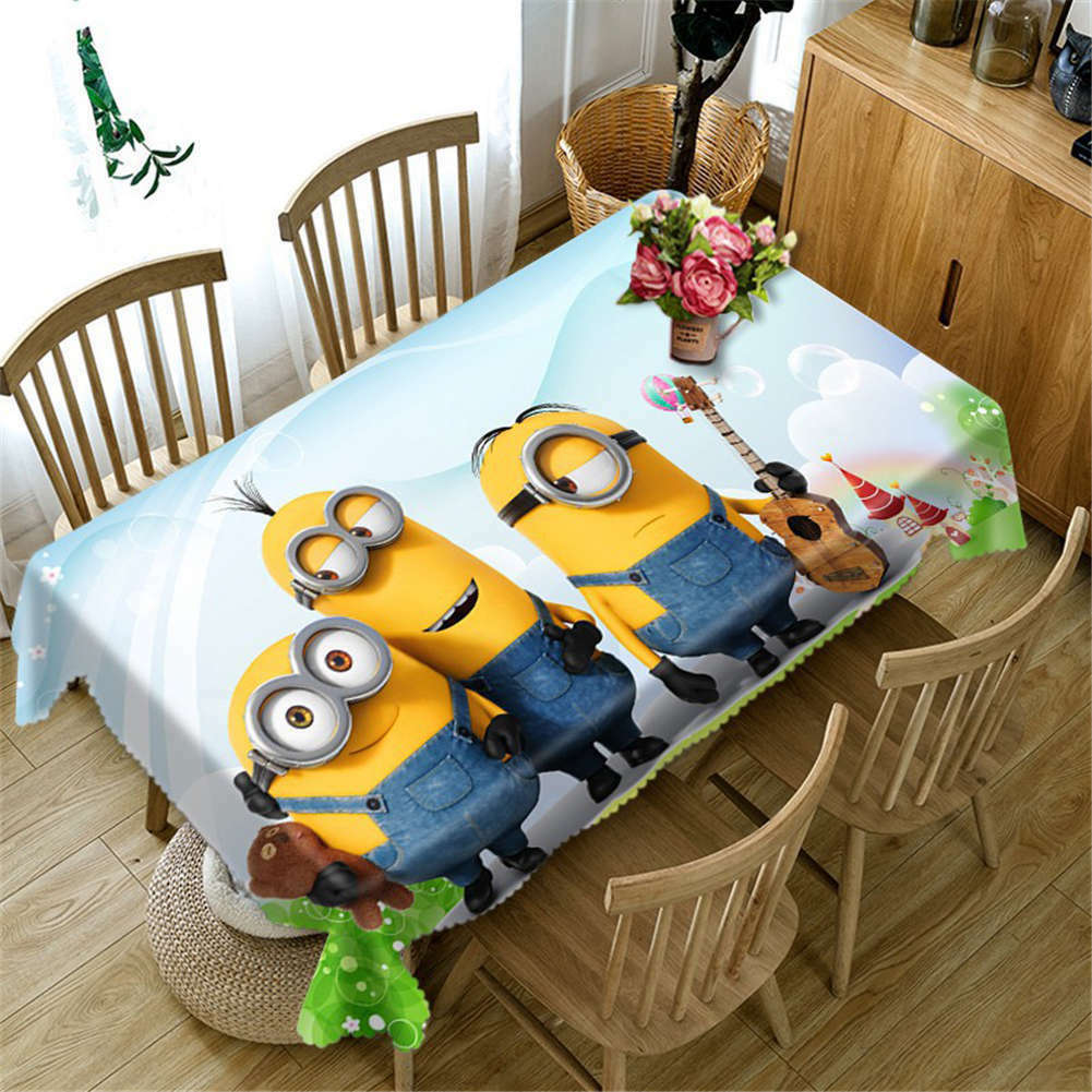 As Brothers 3D Tablecloth Table cover Cloth Cloth Cloth Rectangle Wedding Party Banquet ee65d6