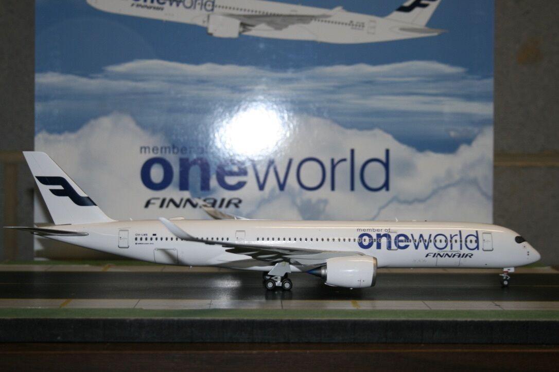 JC Wings 1 200 Finnair Airbus A350-900 OH-LWB 'OneWorld' (XX2233) Model Plane