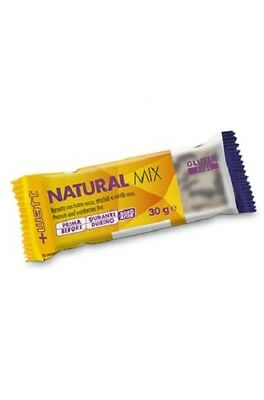 +watt Natural Mix Box 24 X 30g Barrette Energetiche A Base Di Frutta Secca Alta Qualità