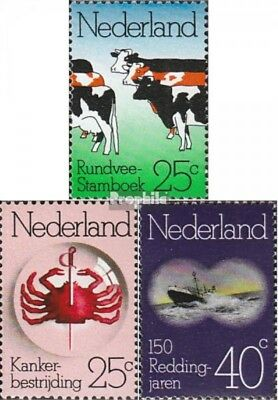 Never Hinged 1974 Annive Latest Technology complete Issue Netherlands 1032-1034 Unmounted Mint