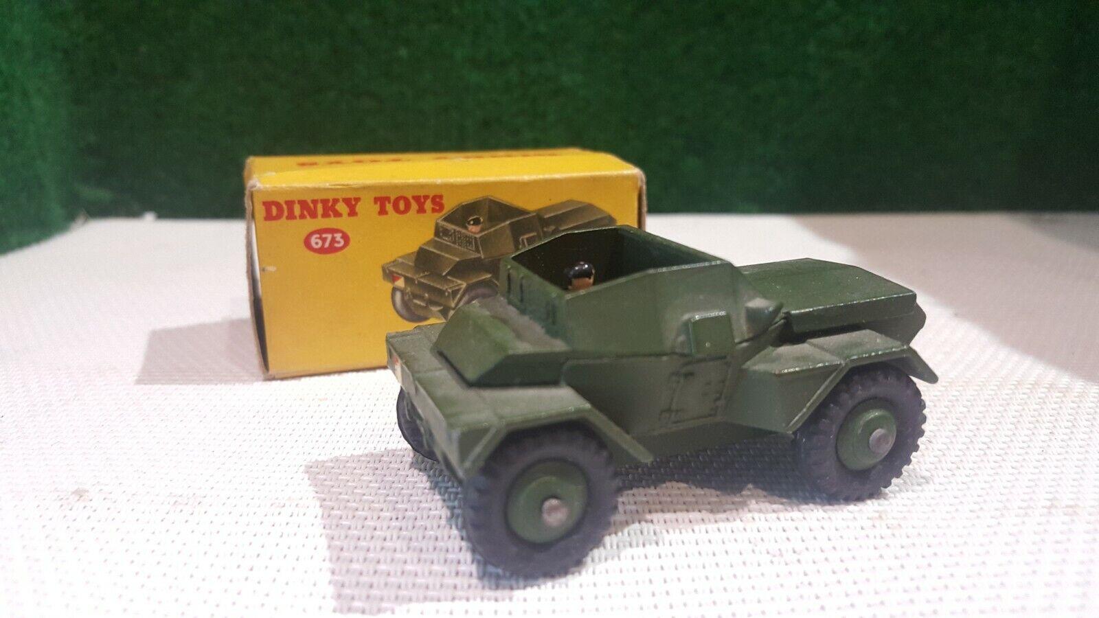 DINKY giocattoli Militaires réf   673 en boite