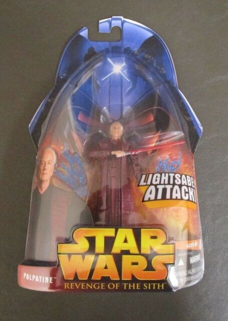 Emperor Palpatine 2005 STAR WARS Revenge of the Sith ROTS MOC #35