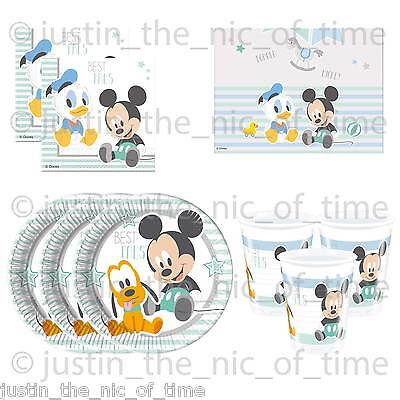 Disney INFANT MICKEY Mouse Party Range Birthday New Baby Shower Procos