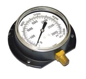 """Marsh Pressure Gauge 2/"""" Bottom Mount 1//8 NPT 0//200 PSI USA made 5 gauges"""