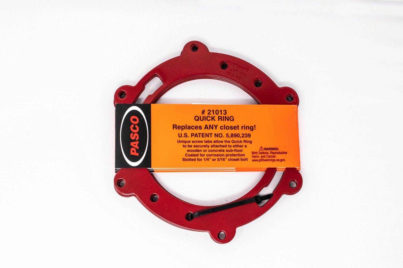 Pasco 21013 Toilet Flange Repair Metal Quick Ring to Repair