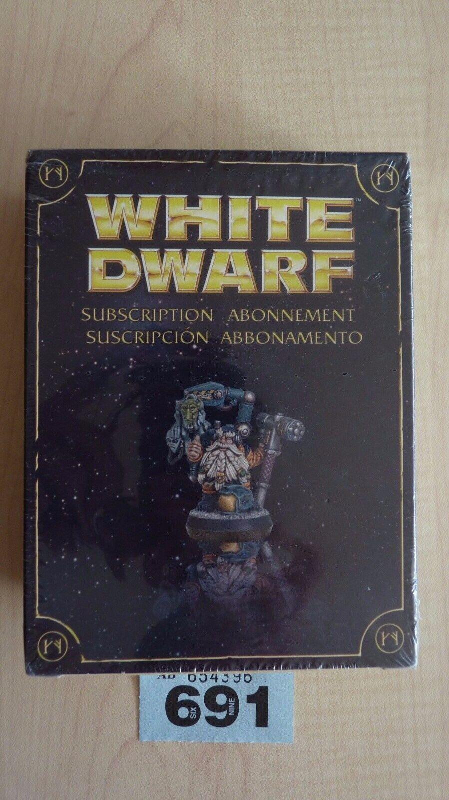 Wh40k limited edition weißen zwerg abonnement 2010 zwerg im raum nisb   691 000