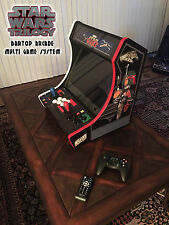 Star Wars Trilogy CUSTOM Mini bartop ARCADE GAME machine CABINET MAME ATARI NES