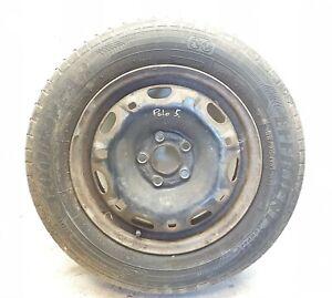 VW-Polo-14-034-Stahl-Rad-mit-Reifen-Goodyear-5x100-5jx14-et35-6q0601027h-5