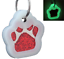 Glitter-Paw-Print-Pet-ID-Tags-Custom-Engraved-Dog-Cat-Tag-Personalized thumbnail 22